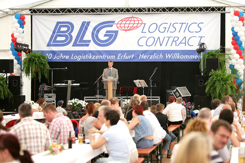 Twenty-Year Anniversary for BLG Handelslogistik GmbH